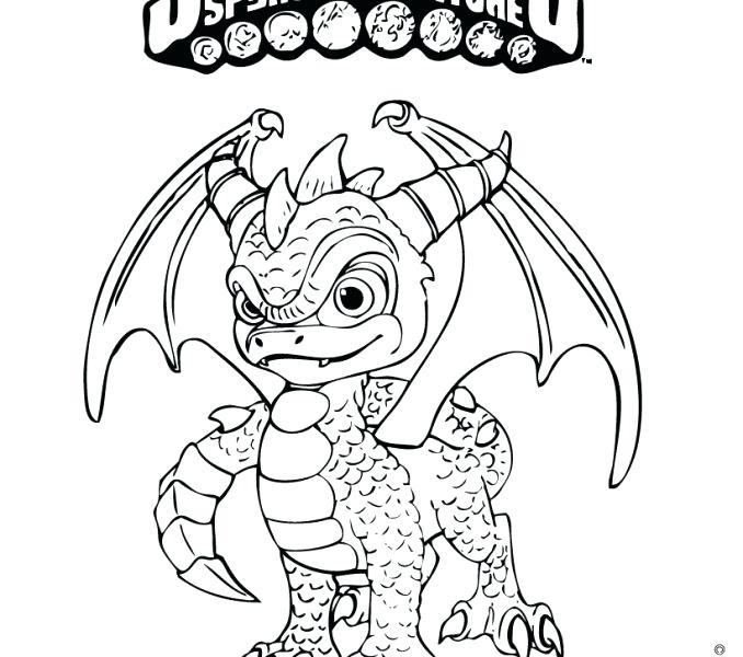 spyro coloring page at getcolorings  free printable