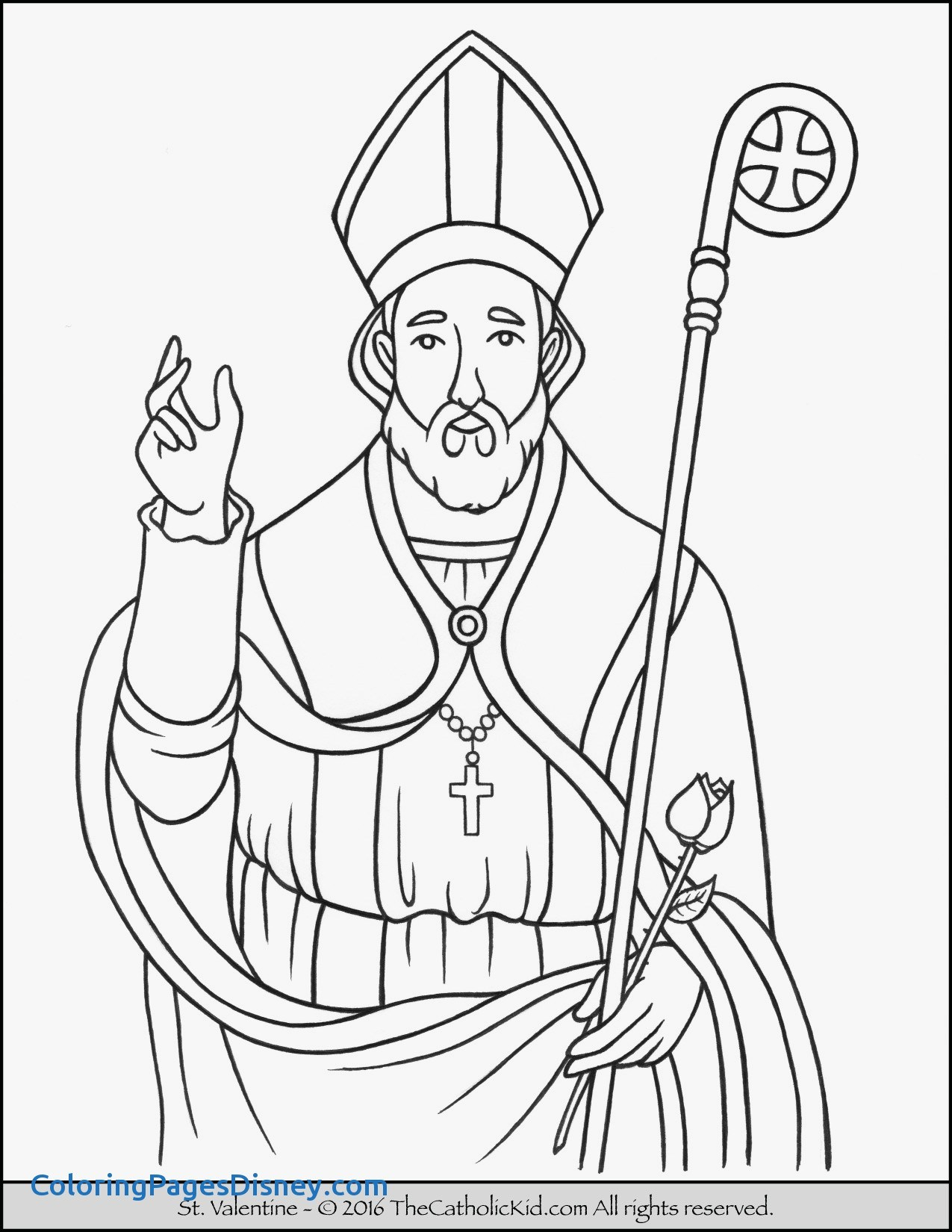 St Peter Coloring Page At Getcolorings