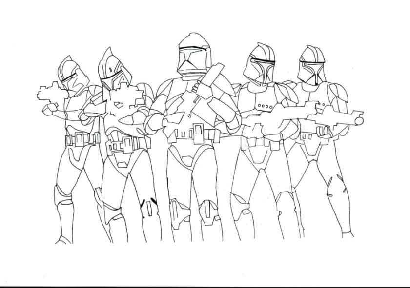 star wars clone trooper coloring pages at getcolorings