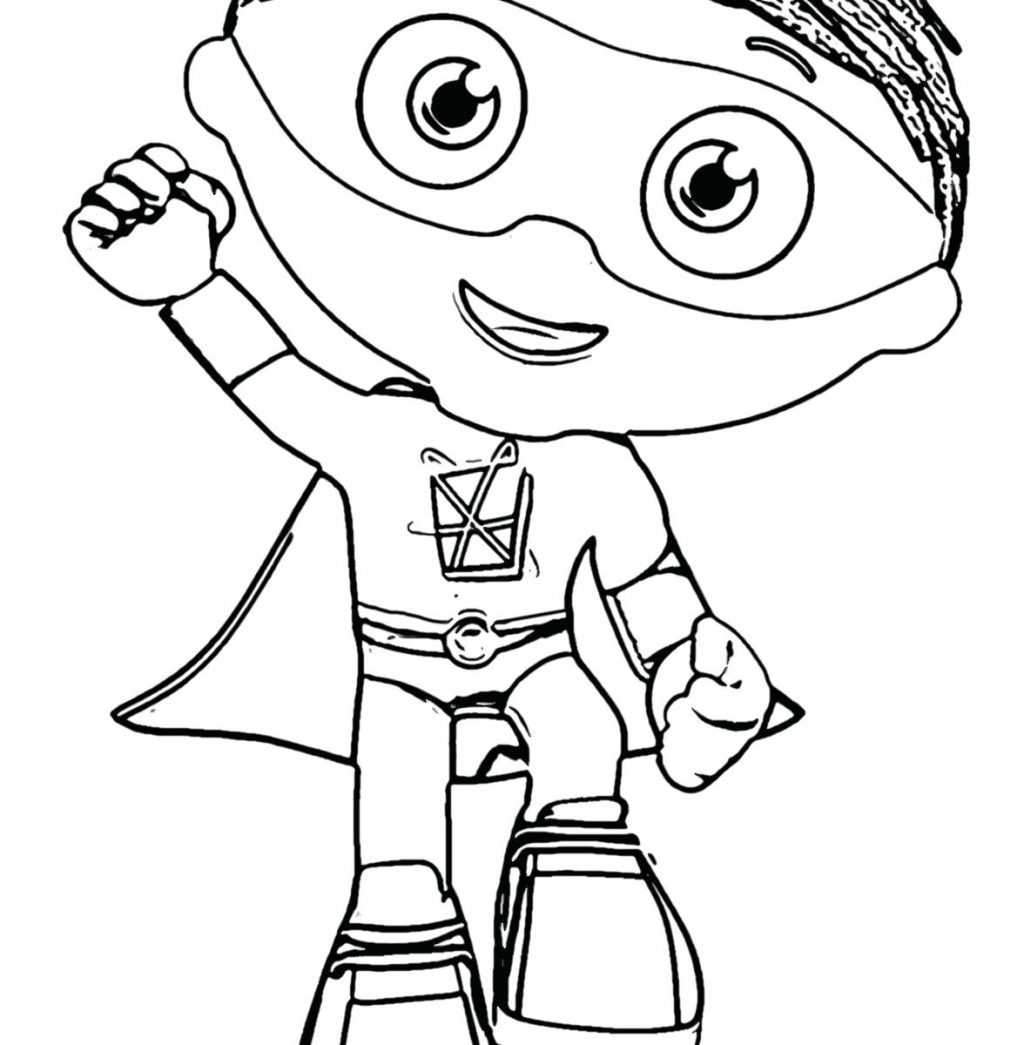 Super Why Coloring Pages At Getcolorings