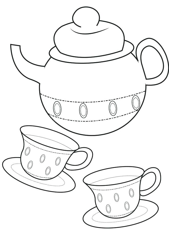 teapot coloring page at getcolorings  free printable