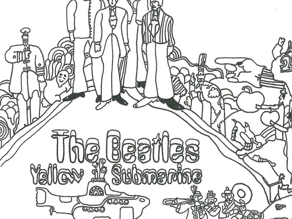 The Beatles Coloring Pages At Getcolorings