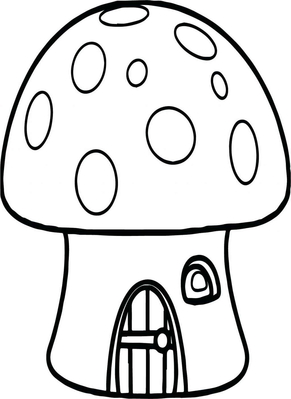 Toadstool Coloring Pages At Getcolorings