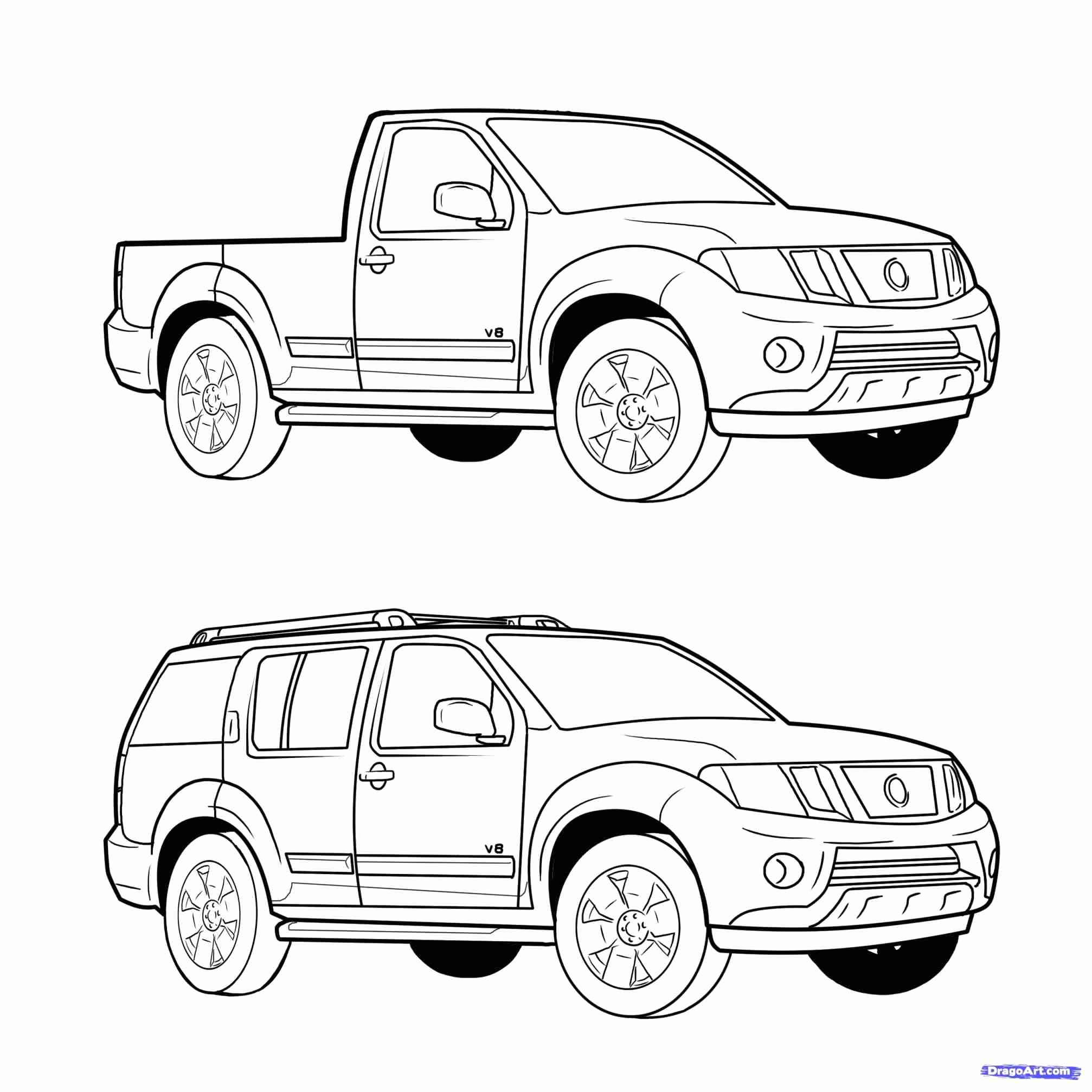 Toyota Tundra Coloring Pages At Getcolorings