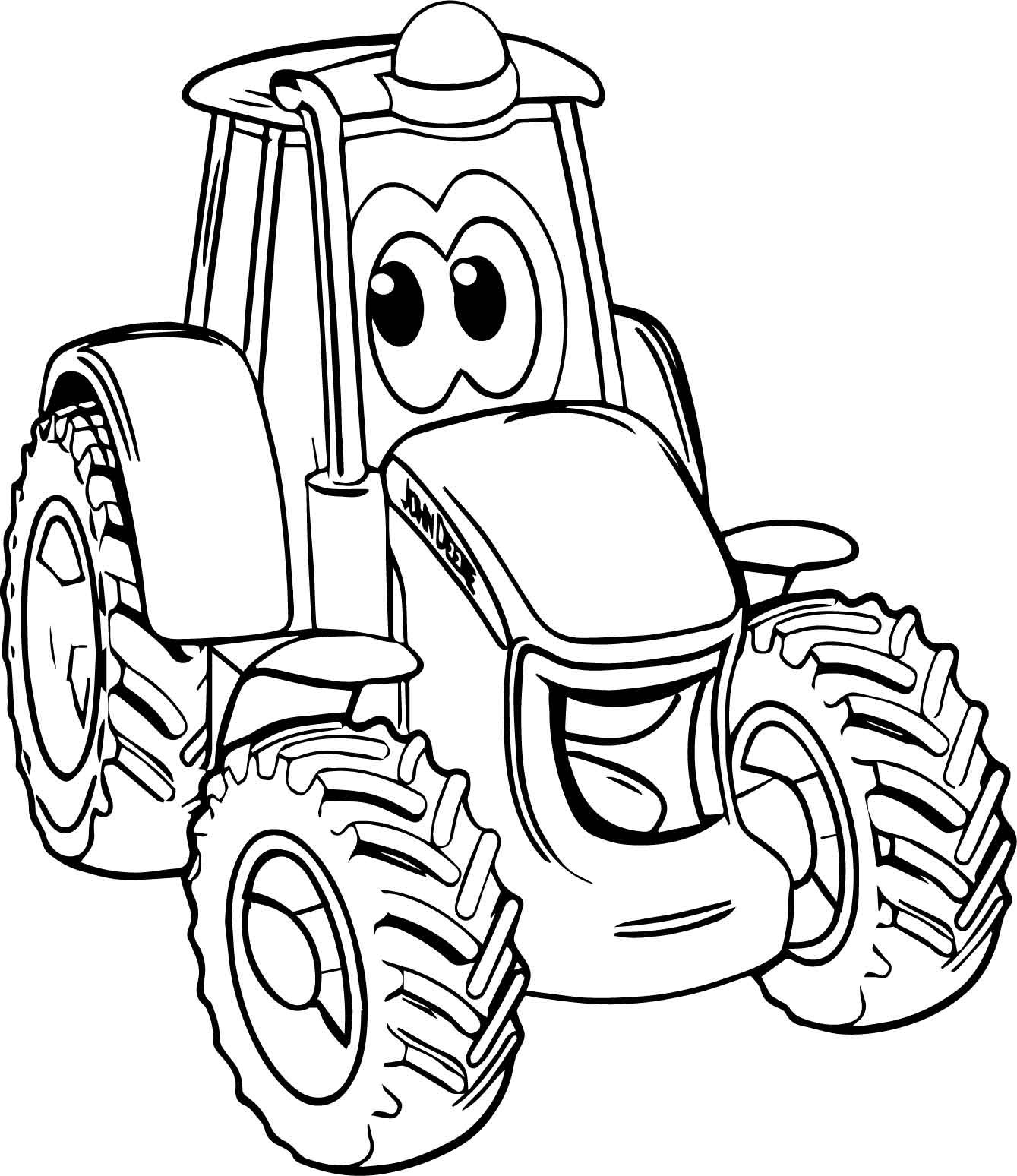 Farmall Tractor Coloring Pages At Getcolorings