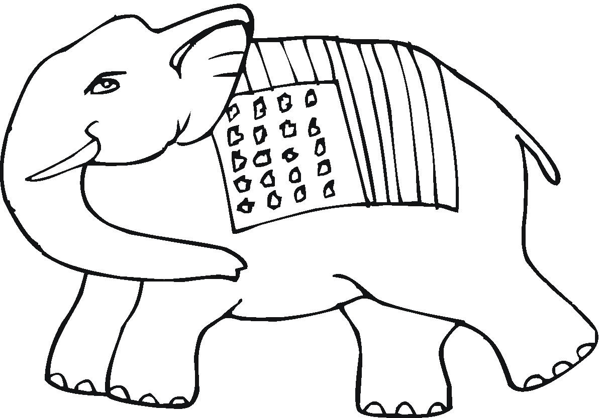 Tribal Elephant Coloring Pages At Getcolorings