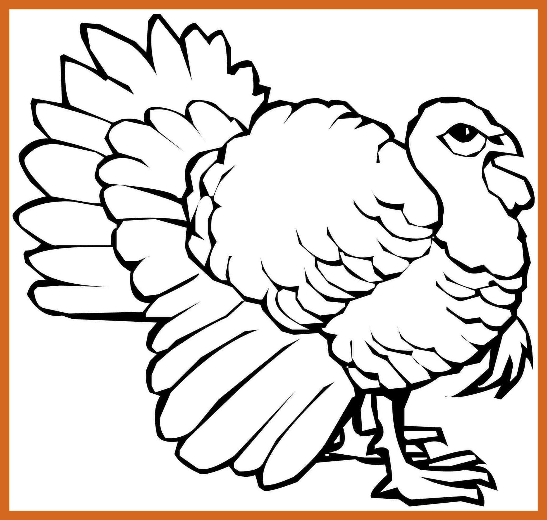 Turkey Hunting Coloring Pages At Getcolorings
