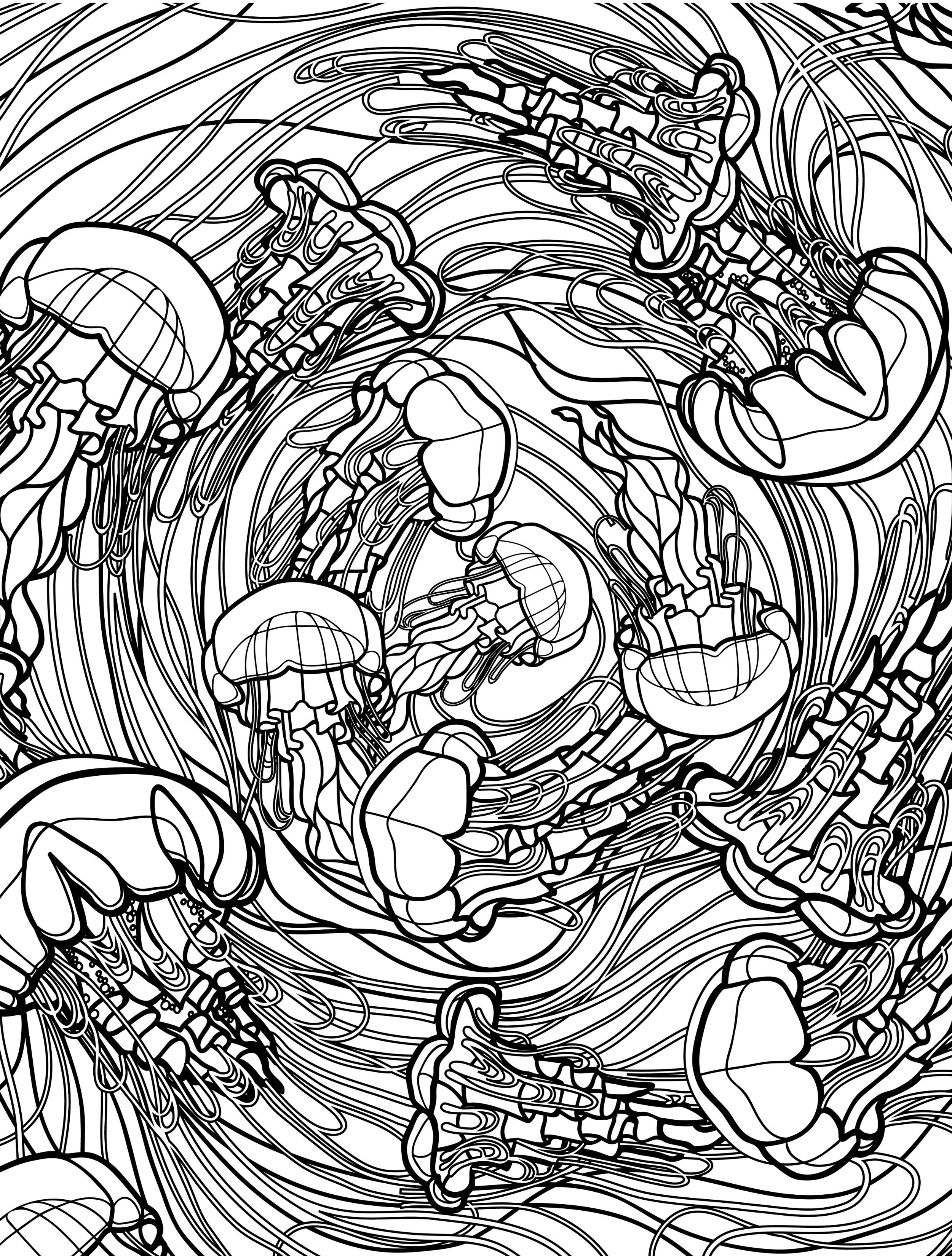 Underwater Coloring Pages For Adults At Getcolorings