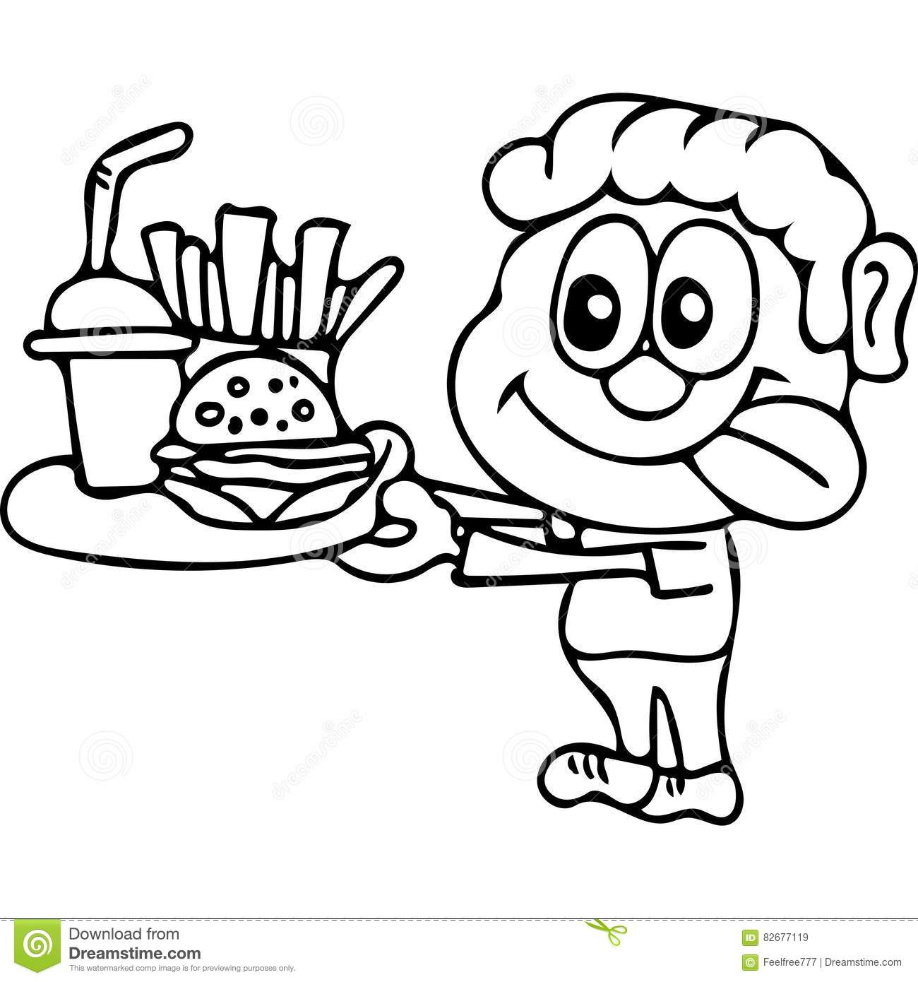 Unhealthy Food Coloring Pages At Getcolorings