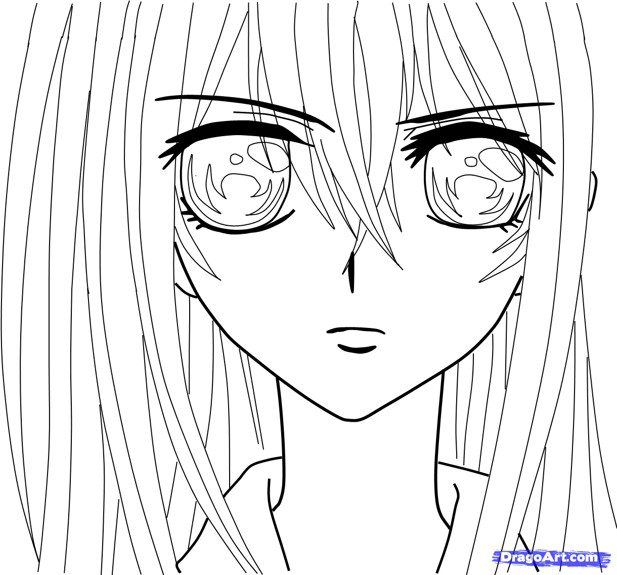 Vampire Anime Coloring Pages At Getcolorings
