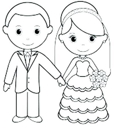 wedding coloring page # 69