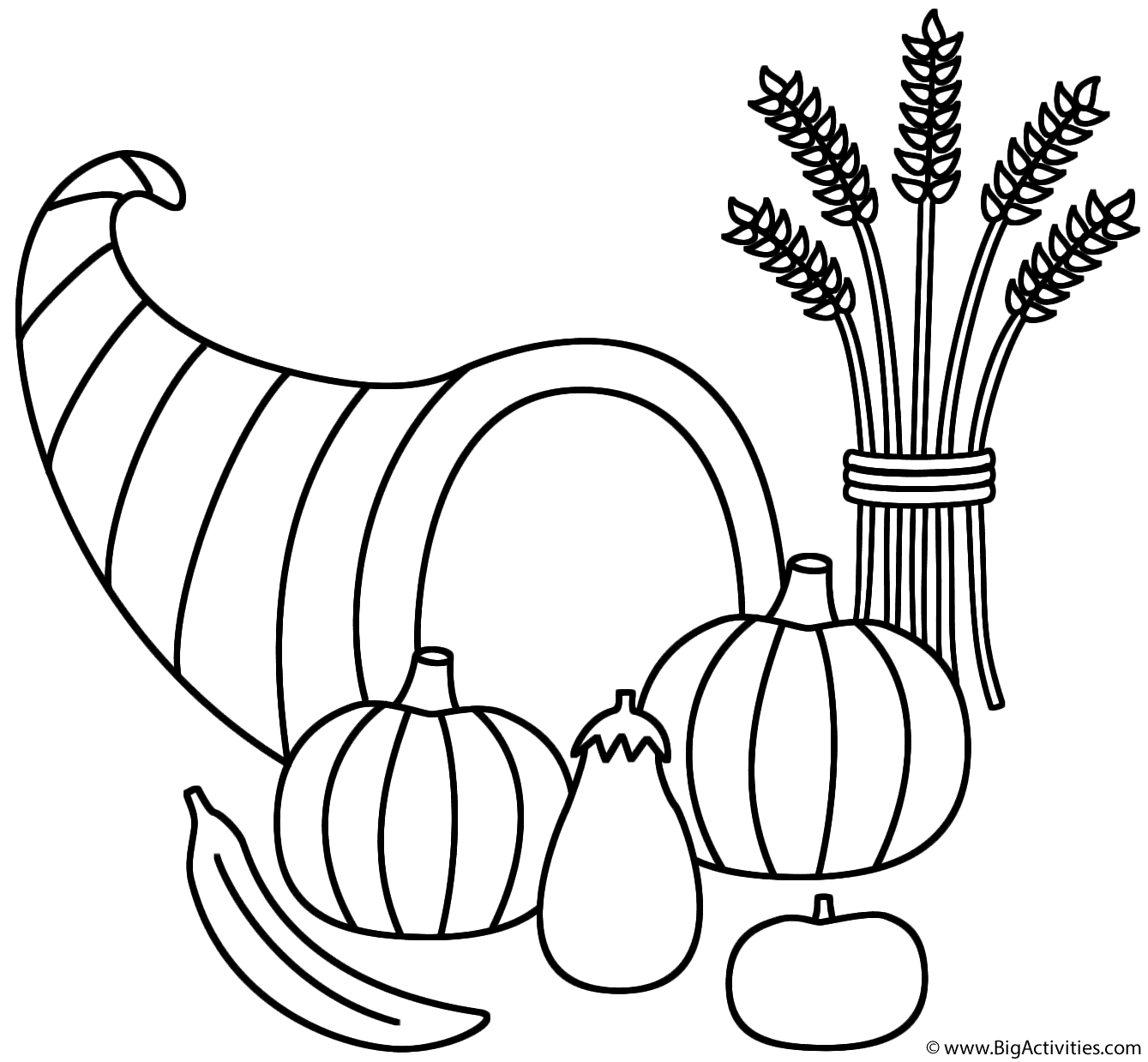 Wheat Coloring Page At Getcolorings