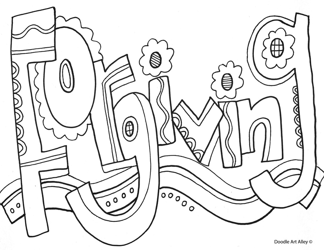 Word Art Coloring Pages At Getcolorings