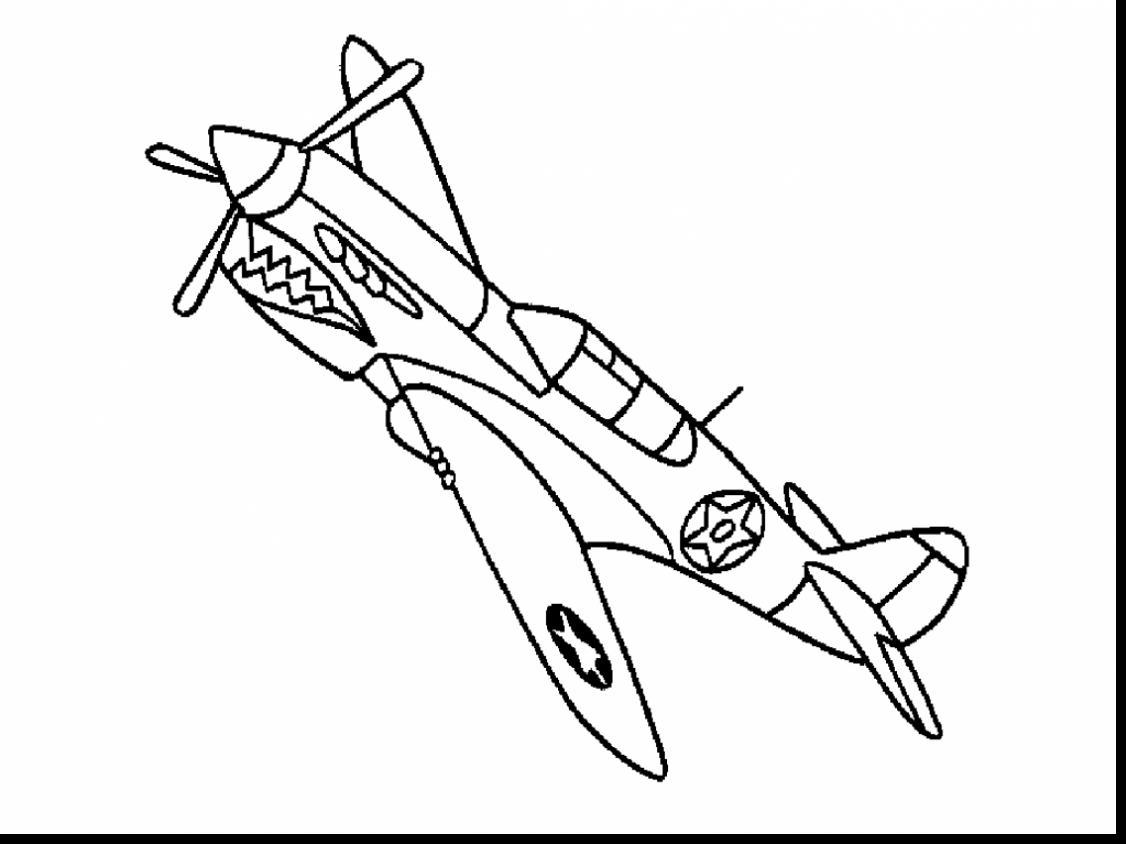 World War 2 Planes Coloring Pages At Getcolorings