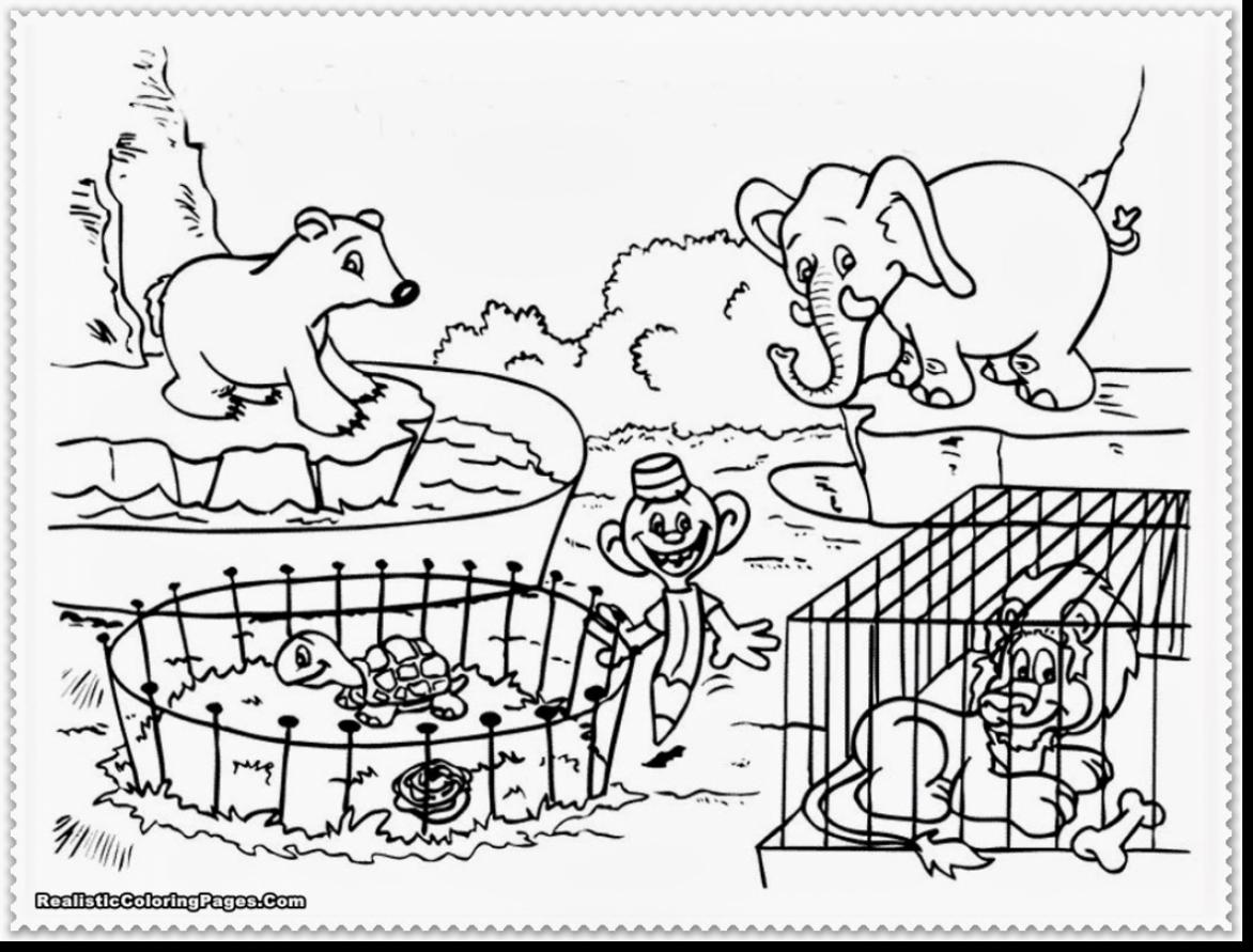 Zoo Animal Coloring Pages At Getcolorings