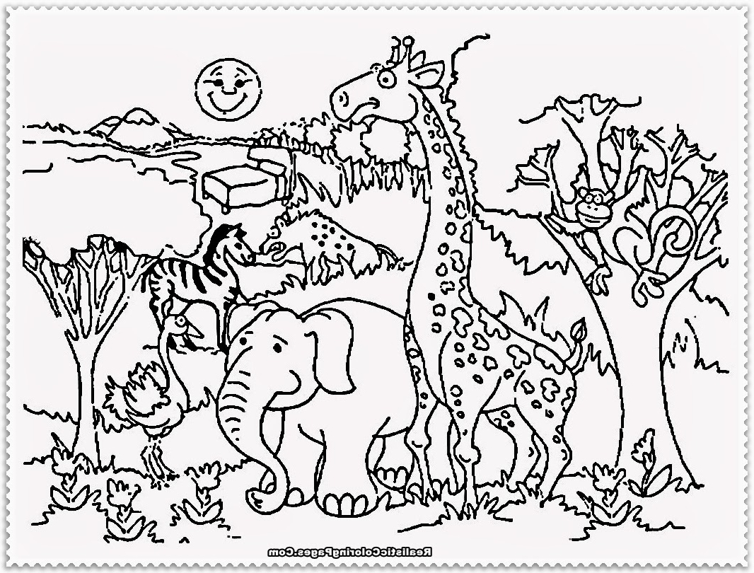 Zookeeper Coloring Page At Getcolorings
