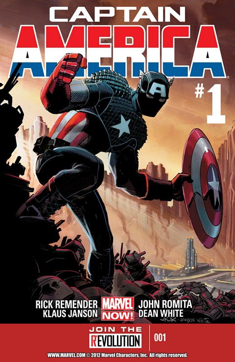 Captain America Vol. 7 #1 – 25 (2013-2014)