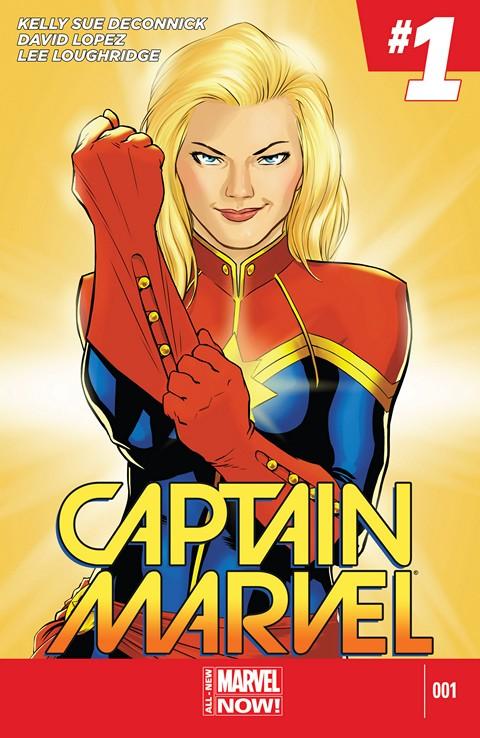 Captain Marvel #1 – 15 (2014-2015)