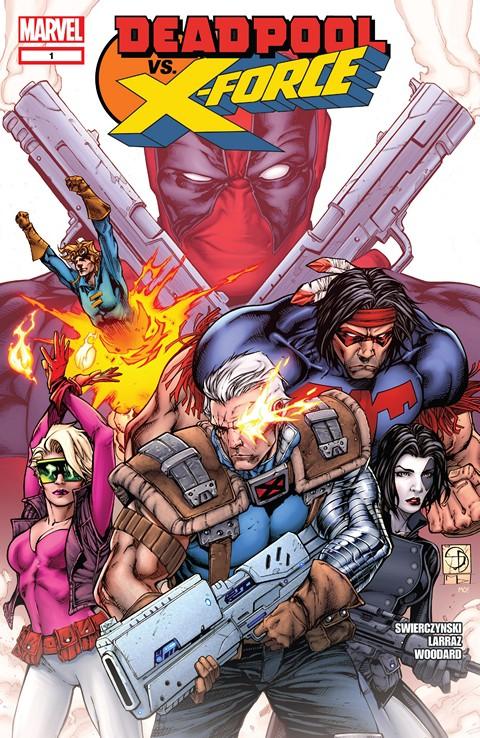 Deadpool Vs X-Force #1 – 4 + TPB (2014)
