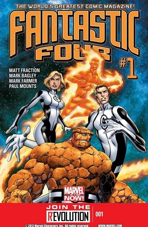 Fantastic Four #1 – 14 + Annual (2014-2015)