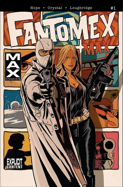Fantomex MAX 001 – 004 Free Download