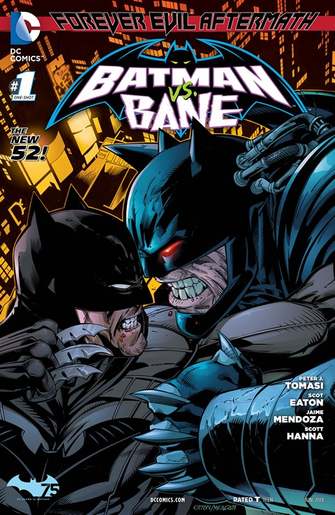 Forever Evil Aftermath – Batman vs. Bane 001 Free Download