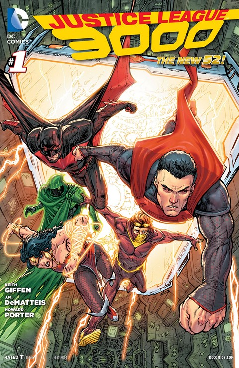 Justice League 3000 001 – 012 Free Download
