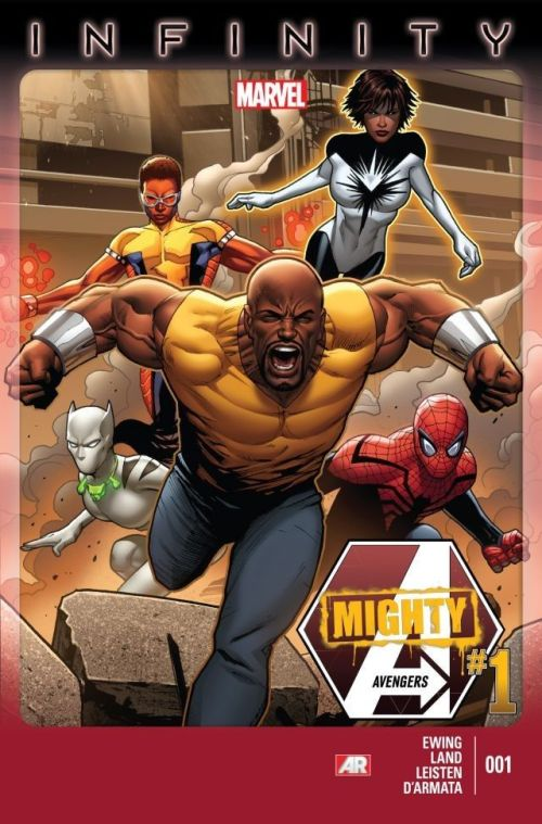 Mighty Avengers 001 – 014 Free Download