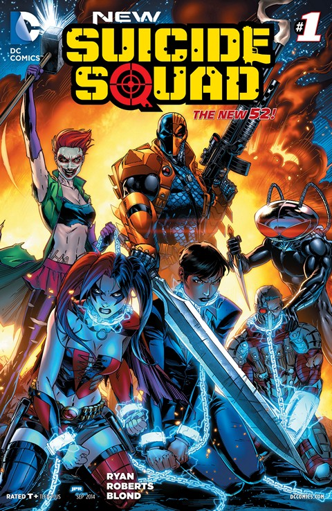 New Suicide Squad 001 Free Download