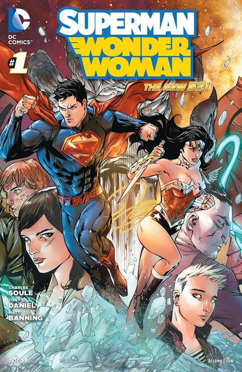 Superman-Wonder Woman 001-014 Free Download