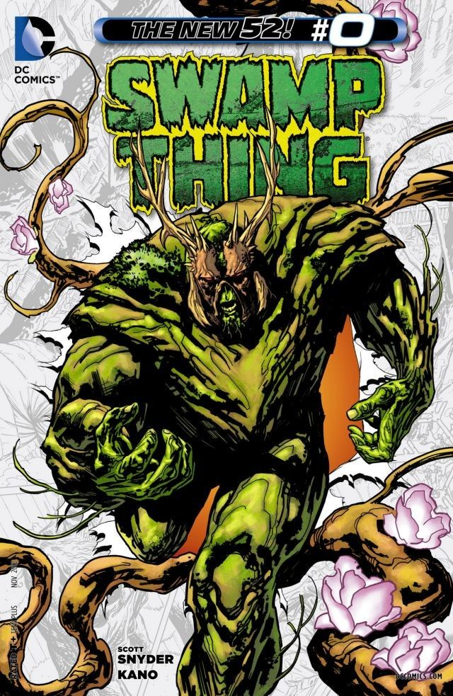 Swamp Thing 000 – 037 Plus Annual Free Download
