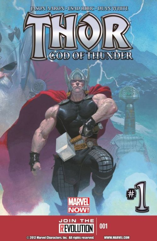 Thor God of Thunder #1 – 25 (2012-2014)