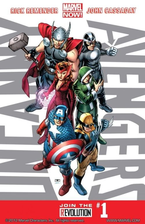 Uncanny Avengers Vol. 1 #1 – 25