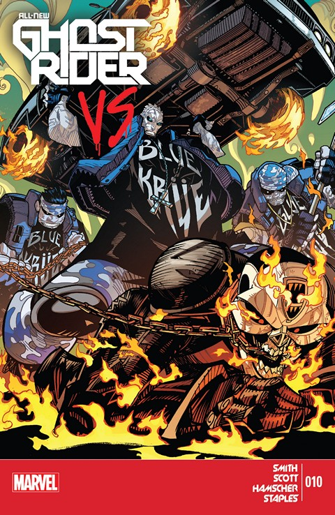 All-New Ghost Rider #1 – 10 (2014-2015)