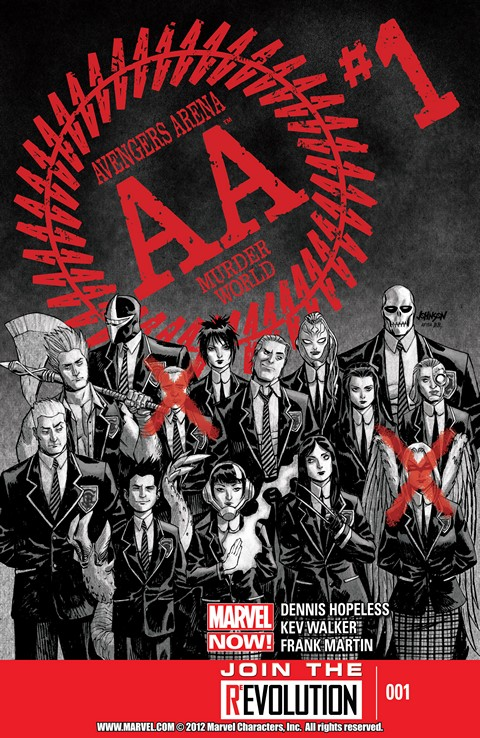 Avengers Arena #01-18 Free Download