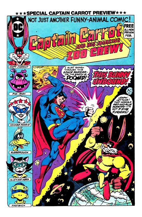 Captain Carrot and His Amazing Zoo Crew #00 – 02
