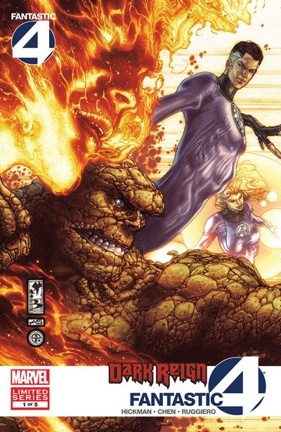 Dark Reign – Fantastic Four #1 – 5 (2009)