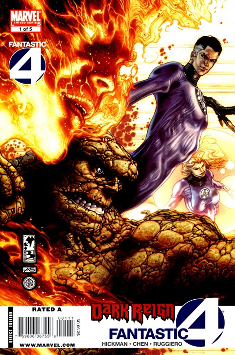 Dark Reign – Fantastic Four #1-5 Free Download