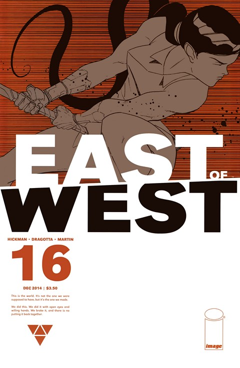 East of West #1 – 33 + TPB Vol. 1 – 6 + The World (2013-2017)