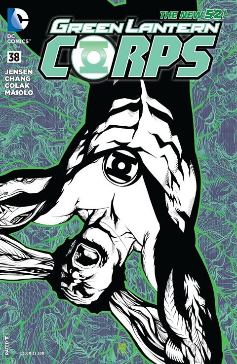 Green Lantern Corps #038 Free Download
