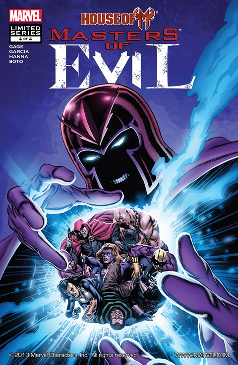 House of M – Masters of Evil #1-4 Free Download