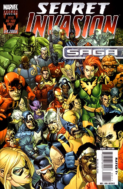 Secret Invasion (01 – 08 + All Tie-ins) Free Download