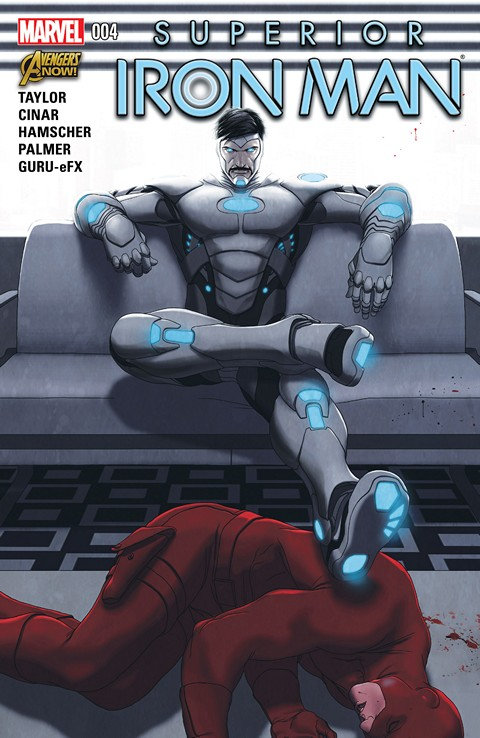 Superior Iron Man #001-004 Free Download
