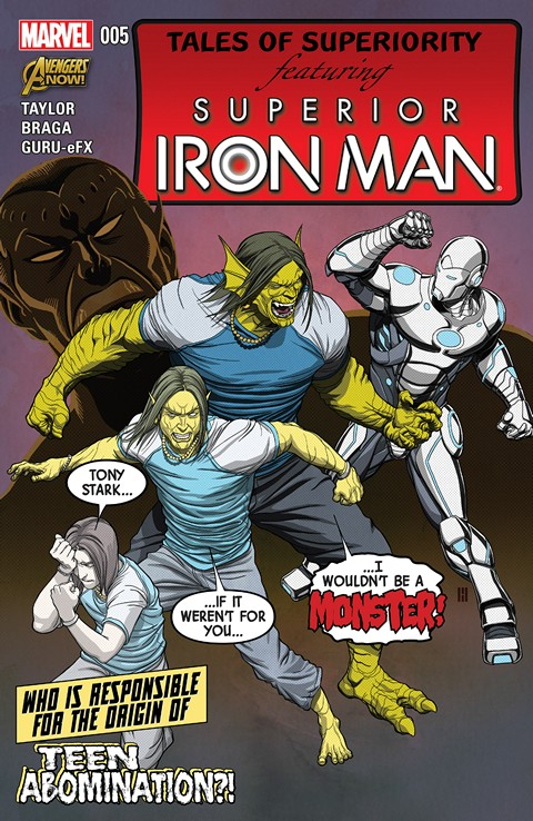 Superior Iron Man #5 Free Download