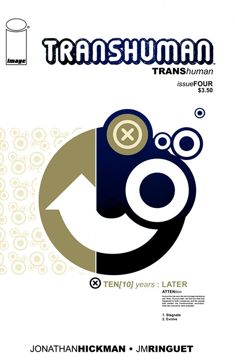 Transhuman #1 – 4 + TPB (2008-2009)