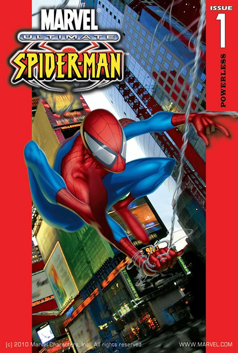 Ultimate Comics Spider-Man Vol. 1 – 3 + Extras (Collection) (2000-2014)