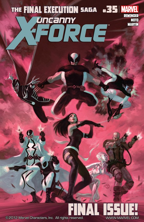 Uncanny X-Force Volume 1 #1-35 Free Download