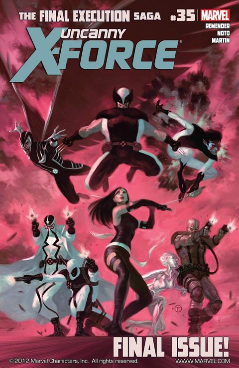 Uncanny X-Force Vol. 1 #1 – 35 (2010-2012)