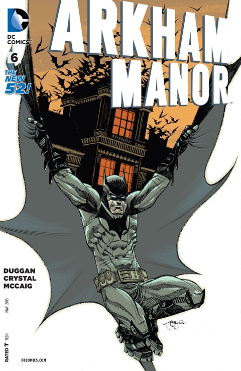Arkham Manor #6 Free Download