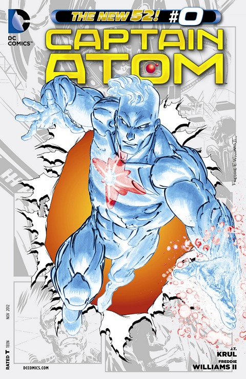Captain Atom #0 – 12 Free Download